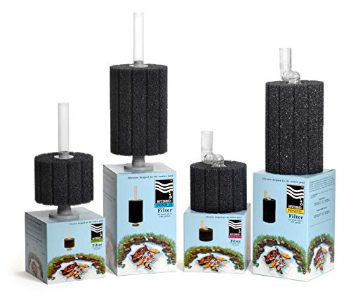 Aquarium Technology, Inc. Hydro-Pond I Sponge Filter for Aquariums and Outdoor and Indoor Ponds up to 500 Gallons