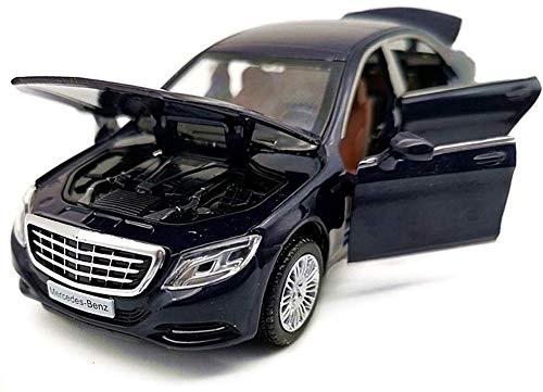 Pkjskh Nuevo en el coche de caja de seis Puerta QRFDAIN Modelo aleación colección de coches