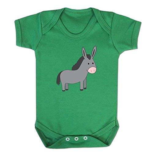 Funny Baby Grows Cute Baby Clothes for Baby Boy Baby Girl Bodysuit Vest Little Donkey Emoticon