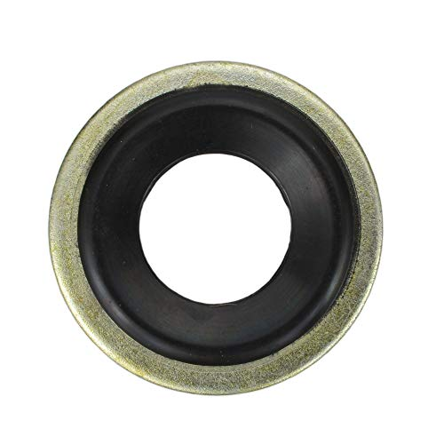 """Buy Auto Supply # BAS03500 (100 Count) M12 1/2"""" Metal Rubber Oil Drain Plug Gasket Aftermarket Replacement fits 097-021, 65274 GM 14079550, 24571185 (24.7mm O.D / 11.5mm I.D)"""