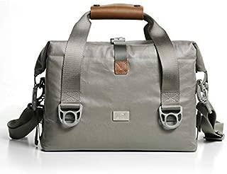 SLR Camera Bag Shoulder Large Capacity 12 x 6 x 9 Inches,Waterproof Micro Single Canon Nikon Professional Messenger Bag Men and Women