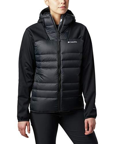 Columbia Women's Centennial Creek Down Hybrid Jacket, Black ,X-Small