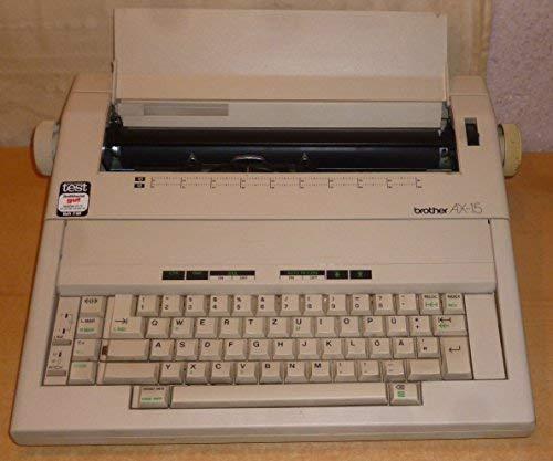 Brother AX-15 máquina de escribir eléctrica