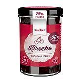 Xucker Fruchtaufstrich Kirsche mit Xylit - Fruchtiger Brotaufstrich mit Xylitol I 74% Fruchtgehalt I vegan &...