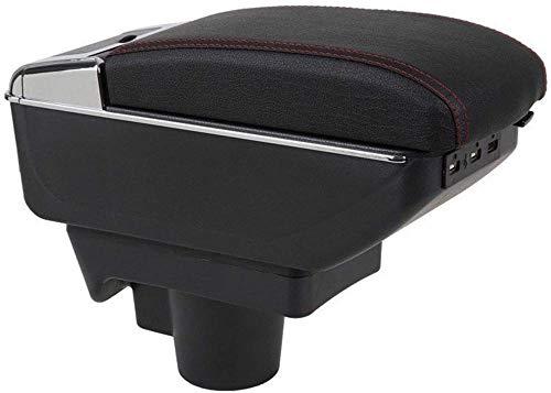 Reposabrazos de Coche, para Opel Astra H 2004-2014 Reposabrazos de Coche Cojín Fundas Protectoras Reposabrazos Caja de Almacenamiento 7 Puertos USB Reposabrazos de Carga Caja de Almacenamiento