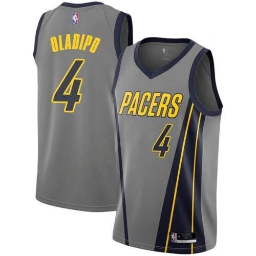 Nike NBA Boys Victor Oladipo Indiana Pacers, Gray, Large (14-16)