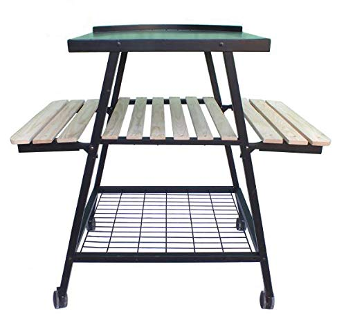 Gardeco PO-STAND Pizza Oven Trolley Stand 110cm High for PIZZARO Oven. Includes Tigerbox Matches (Oven Sold Separately).