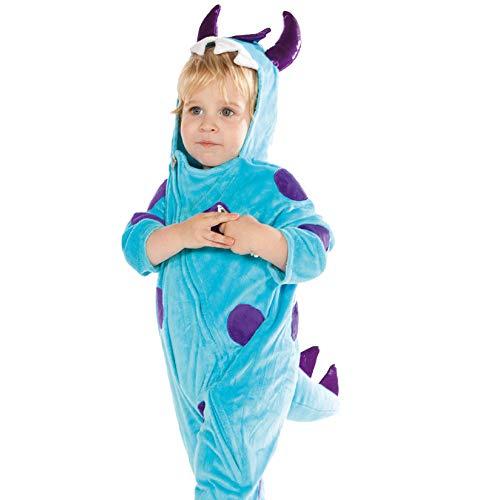 Disfraz de Dinosaurio (Mono Para Niños de 2-3 Años)