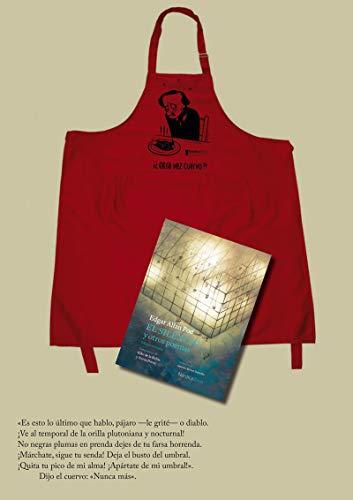 Pack Edgar Allan Poe - libro el silencio delantal max (Ilustrados)