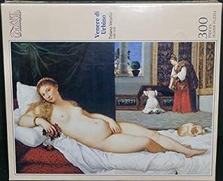 300ピース 『ティツィアーノ ウルビーノのヴィーナス 』ジグソーパズル 26×38cm キューティーズ 300-058 /J218