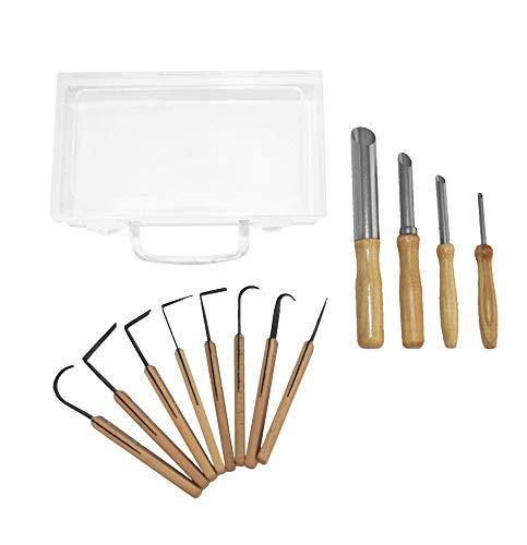 12 Pcs herramientas de cerámica - Herramientas de recorte - Cuchillos