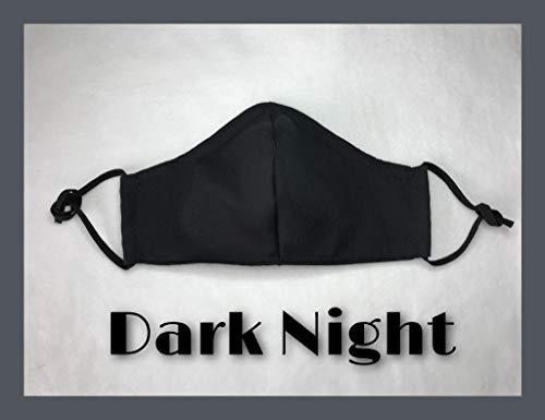 Mundschutz Maske schwarz Behelfsmaske waschbar Mundschutzmaske Baumwolle individuell anpassbar Brillenträger geeignet
