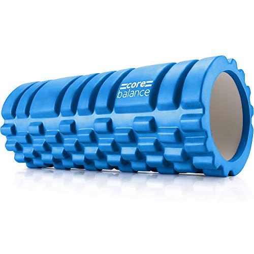 Core Balance Foam Roller For Deep Tissue Muscle Massage, Trigger Point Grid...