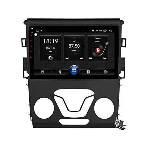 Android 10.0 GPS estéreo para automóvil, radio compatible con Ford Mondeo 2013-2019 Unidad principal de navegación Reproductor multimedia MP5 Receptor de video con 4G / 5G WIFI DSP RDS FM Mirrorlink