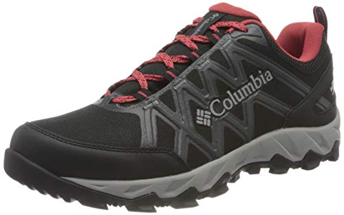 Columbia Peakfreak X2 Outdry, Chaussures Femme - Multicolore (Black, Daredevil) - 36 EU