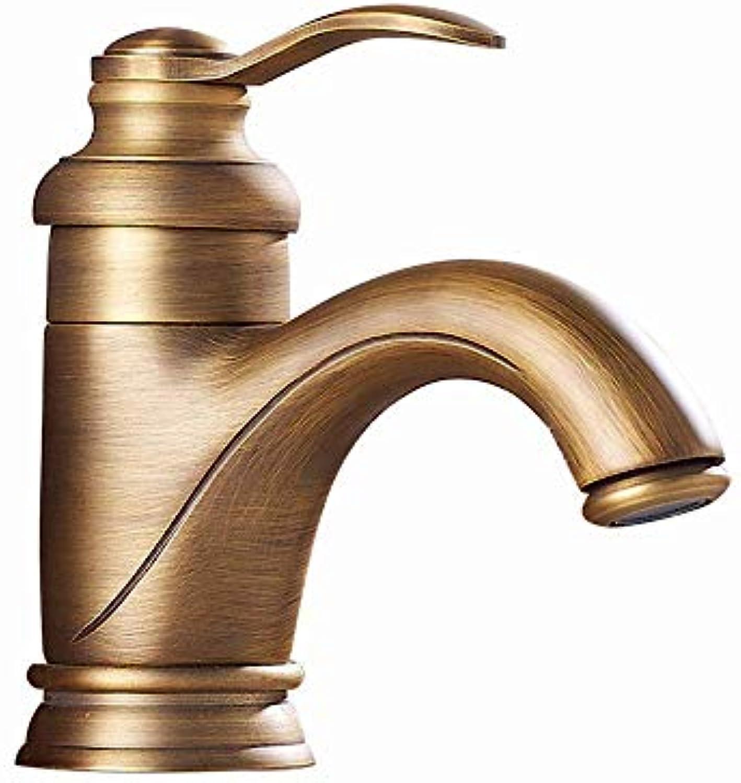 Willsego Wasserhahn Europische Antik Kupfer Wasserhahn Volle Retro Caipen Führer Führen Low-Proof Küchenarmatur Mix (Farbe   -, Gre   -)