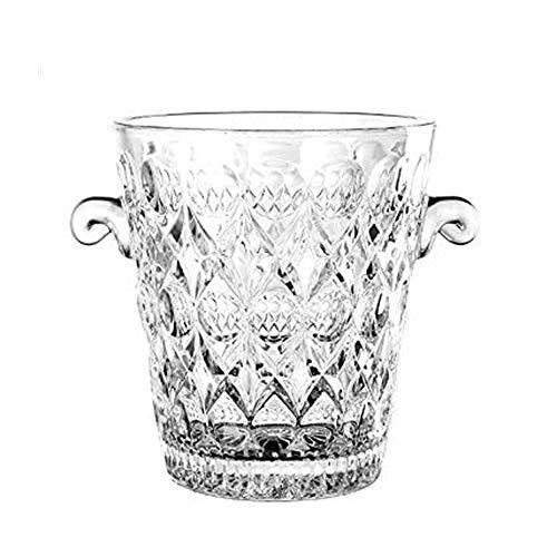Glass Ice Bucket Champagne/Wine Bucket Wine Cooler