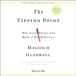 The Tipping Point     How Little Things Can Make a Big Difference              By:                                                                                                                                 Malcolm Gladwell                               Narrated by:                                                                                                                                 Malcolm Gladwell                      Length: 3 hrs and 4 mins     351 ratings     Overall 4.5