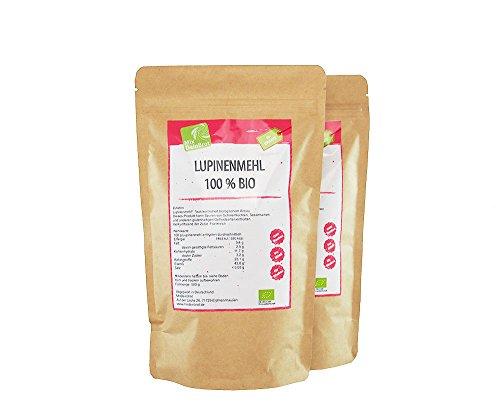 Harina de altramuz orgánica, , proteína vegetal, vegana, harina de altramuz 2000 g