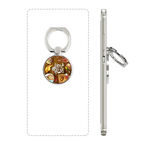 DIYthinker Meat Store Barbecue Steak Telefoon Ring Stand Houder Beugel Universele Smartphones Ondersteuning Gift