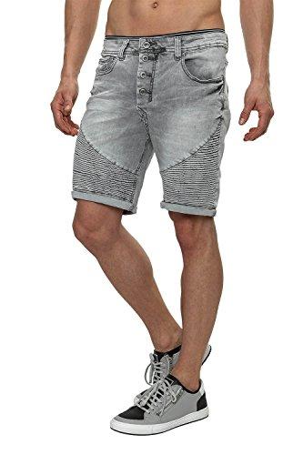 Sky Rebel Short Jeans Shorts & Bermudas, Grey, W30, Grey, W30