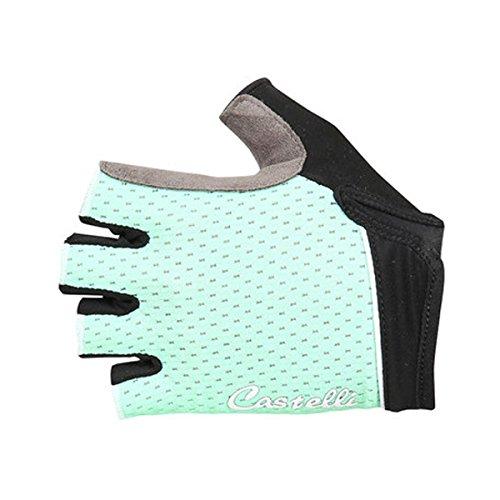 Castelli Women's Roubaix Gel Bike Glove (Pastel Mint, Small)