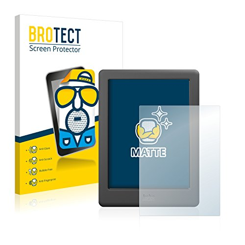BROTECT 2x Antireflecterende Beschermfolie compatibel met Kobo Glo HD Anti-Glare Screen Protector, Mat, Ontspiegelend