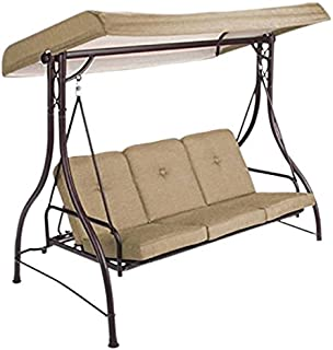 Garden Winds Lawson Ridge 3-Person Swing Replacement Canopy- Rip Lock 350