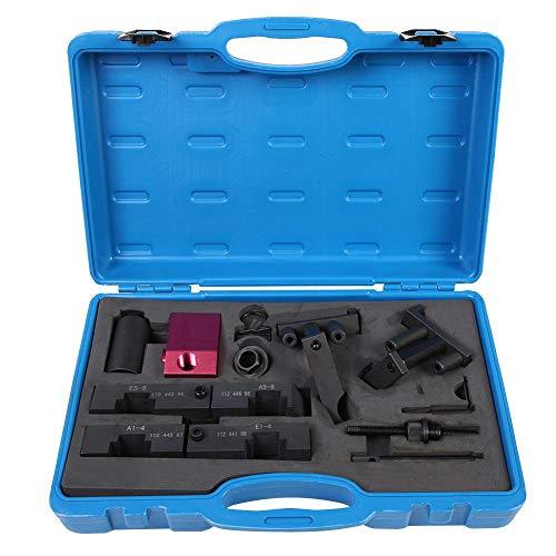 Motoreinstell werkzeug arretierwerkzeug 13-Stück Qiilu Arretierung Einstellen Nockenwelle Kurbelwelle Set für M60 M62 M62TU Dieselmotor