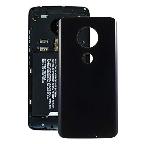 HUANGPUJIAN Parte di Ricambio del Telefono Mobile Coperchio Posteriore Batteria QJS for Motorola Moto G7 Plus (Nero) (Colore : Black)