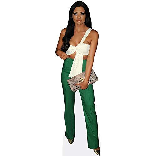 Celebrity Cutouts Abbie Holborn (Green Trousers) Pappaufsteller lebensgross