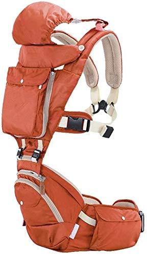 Porte-bébé HZYD -Baby Automne Sleeping Flip avancé 4-en-1 Convertible Avant, Emballages Cadeaux, Original, Cool (Couleur: Vert) (Couleur: Rose) (Couleur: Vert), Couleur: Orange ( Color : Orange )