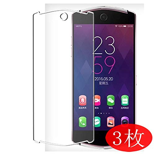 【3 Pack】 Synvy Screen Protector for Meitu V4 TPU Flexible HD Film Protective Protectors [Not Tempered Glass]