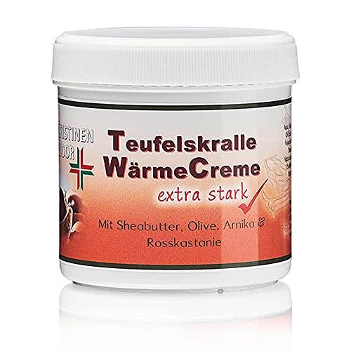 Teufelskralle Salbe I CristinenMoor Teufelskralle WärmeCreme extra stark I Balsam für Nacken und Schultern I bei Verspannungen