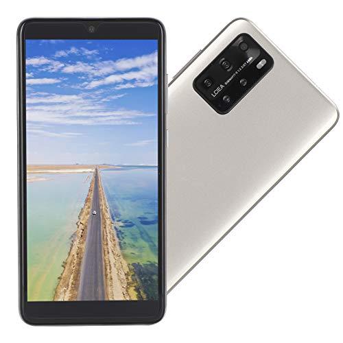 Cuifati P48 Pro 5.8in Phone, 5.8in Screen Phone 3G 200W + 200W Teléfono móvil Inteligente para 6.1(Golden)