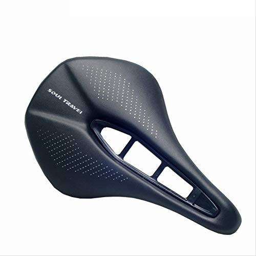 Comfort Fietszadel, ergonomisch en comfortabel hol, ergonomisch fietszadel voor dames, breed tourzadel, comfortabel, waterdicht, ademend, mountainbike, voor trekkingfiets