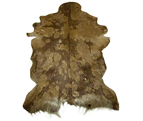 Zerimar Alfombra Piel de Cabra Natural Premium | Medidas: 105x70 cms | Alfombra Salón | Alfombra Decoracion | Alfombra Dormitorio