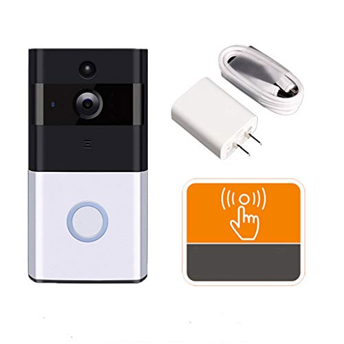 YHWLKK Video Ring Pro | Kit met Chime en Trafo, HD, twee manieren talk, wifi, bewegingsdetectie