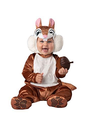 Fun World Cheeky Chipmunk Costume Infant Small Brown