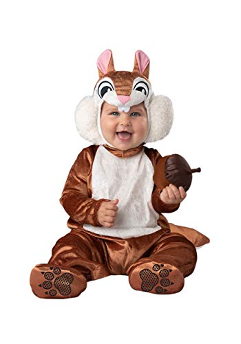 Fun World Cheeky Chipmunk Costume Infant Small Brown