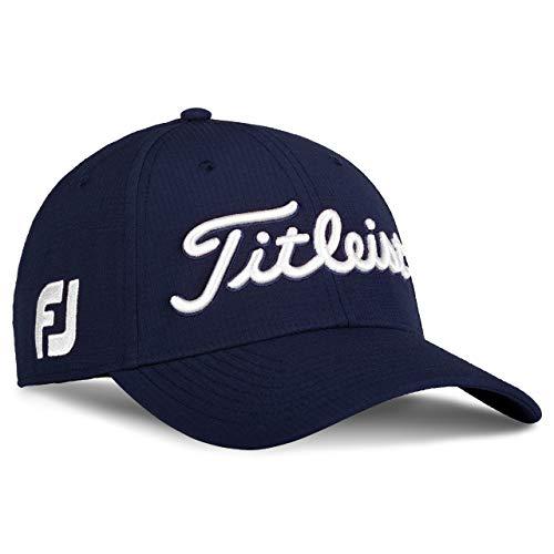 Titleist Tour Elite Hat Legacy Collection TH20FTEL Golfmütze, Herren, weiß/marineblau, Medium/Large
