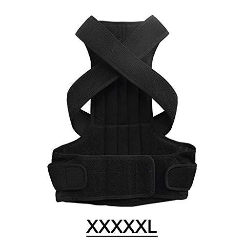 pedkit Rückenstütze Haltungskorrektur für Herren Damen und Kinder, Rückenstütze Geradehalter Verstellbar, Ultradünnen Komfortable Skoliose Zurück Buckelkorrekturgürtel, XS-XXXXXL (optional)
