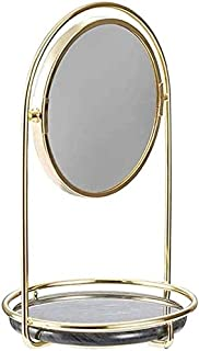 Makeup Mirror Dual Sided Magnifying Round Tabletop Makeup Mirrors with Removable Pedestal for Girls Women Beauty Tools Bathroom Accessories
