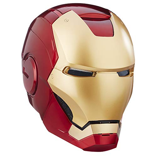 Hasbro- Casco Elettronico Iron Man, Multicolore, B7435E48