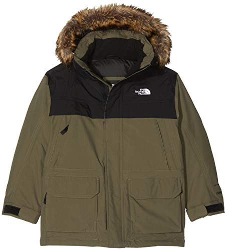 The North Face TNF - Chaquetas, Niños, Verde (New Taupe Green), XS