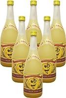 請福酒造 ゆずリキュール10度4合瓶6本セット