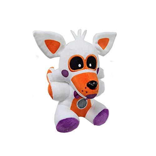 FNAF Lolbit Plush, Lolbit Plush, Natseekgo 7 Inch/18cm Stuffed Toys Dolls (Lolbit)