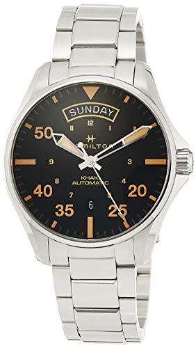 Hamilton Reloj de Hombre automático 42mm Correa y Caja de Acero H64645131