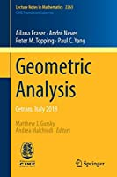 Geometric Analysis: Cetraro, Italy 2018 (Lecture Notes in Mathematics)