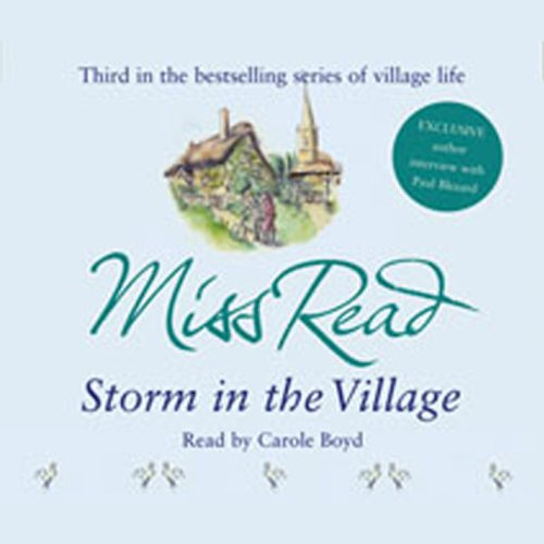 Storm in the Village audiobook cover art